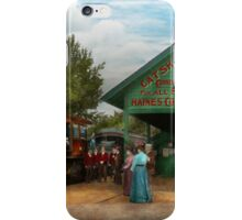 Train - Haines Corners - Catskill Mountains - NY - Waiting for departure - 1902 iPhone Case/Skin
