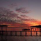 Boathouse Sunset by Nicole I Hamilton