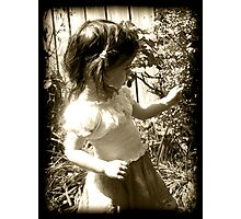 Une mémoire pour ma petite fille Photographic Print