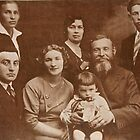 Poland 1933 My Grandfather & Family by Ronald Rockman