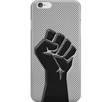 Carbon Fiber Style Fist iPhone Case/Skin