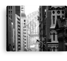 Harbour Bridge View 1 Canvas Print