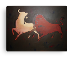 Bullfight 2 Canvas Print