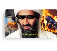 Uncle Osama Mlg Canvas Print