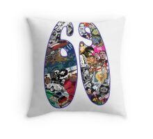 1969 - 40th Birthday Throw Pillow