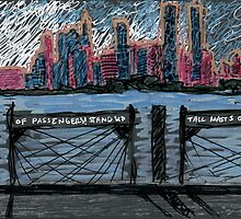 skyline with whitman quote by purplestgirl