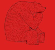 Thinking bear by David Barneda