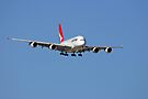 Qantas A380 On Approach  by EOS20