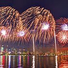 Perth WA Skyworks Australia Day 2015 - 2 - HDR by Colin  Williams Photography