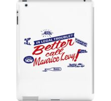 Better call Maurice Levy - (The Wire) iPad Case/Skin