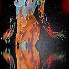 Leon Alegria's Melting Woman by taiche