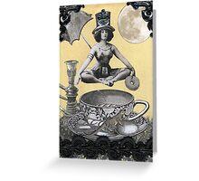 Java Goddess Greeting Card