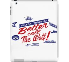 Better call The Wolf iPad Case/Skin
