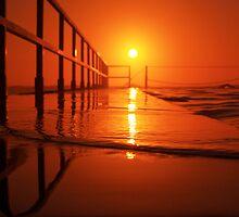 Sunrise Swim {a} by Nick Ford