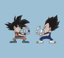 Goku vs Vegeta Kids Clothes