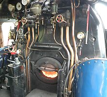 A4 Footplate by Edward Denyer