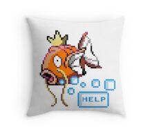 Magikarp Help! Throw Pillow