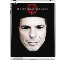 V for Varoufakis iPad Case/Skin