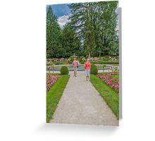 Garden of Diane de Poitiers, Chateau de Chenonceaux, Loire Valley, France #2 Greeting Card