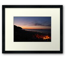 The Perfect Ending... Framed Print