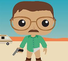 Walter White Funko Pops Style by Reece Caldwell