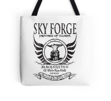SkyForge - Where Legends Are Born In Steel Tote Bag