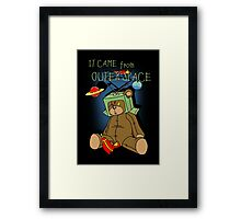 It Came from Outer Space - in technicolor Framed Print