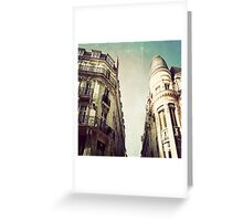 _ architecture _ Greeting Card