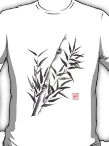 No doubt bamboo sumi-e painting T-Shirt