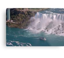 A ship in Niagara Falls State Park Metal Print
