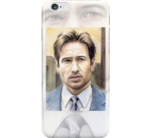David Duchovny miniature iPhone Case/Skin