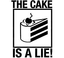 Portal The Cake is a Lie Photographic Print