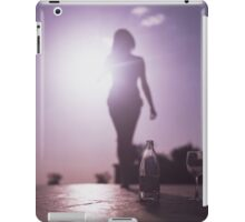 Young lady by pool color film Hasselblad medium format  fine art analog female nudes and erotica iPad Case/Skin