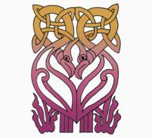 Celtic Knot Birds by Zehda