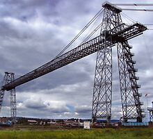 newport transporter bridge by opiumfire
