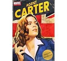 Agent Carter is Miss Union Jack Photographic Print