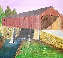 Check'n Out the New Covered Bridge by towncrier