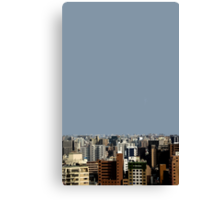 fukuoka skyline Canvas Print
