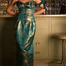 Front of Absinthe Gown by Lisa Defazio