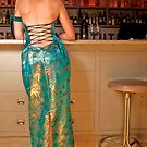 Back of Absinthe gown by Lisa Defazio