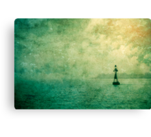 The Buoy Canvas Print