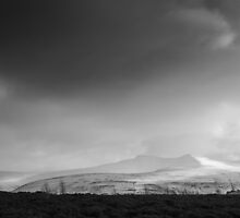 Pen Y Fan in Winter by Heidi Stewart