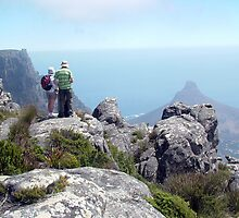 Table Mountain Hikers by Angus Russell