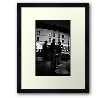 strip tea Framed Print