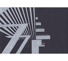 Southbank abstraction III Photographic Print
