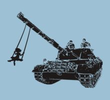 tank kids - love and peace by hottehue