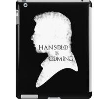 han is coming iPad Case/Skin