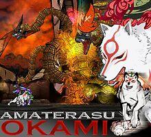 Amaterasu by KitKatKitten