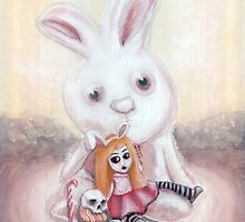 Ester and Bunny by ROUBLE RUST