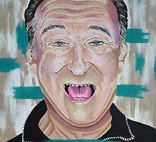 Robin Williams: Legendary  by ARTofJOSH
